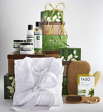 Spa Day Basket
