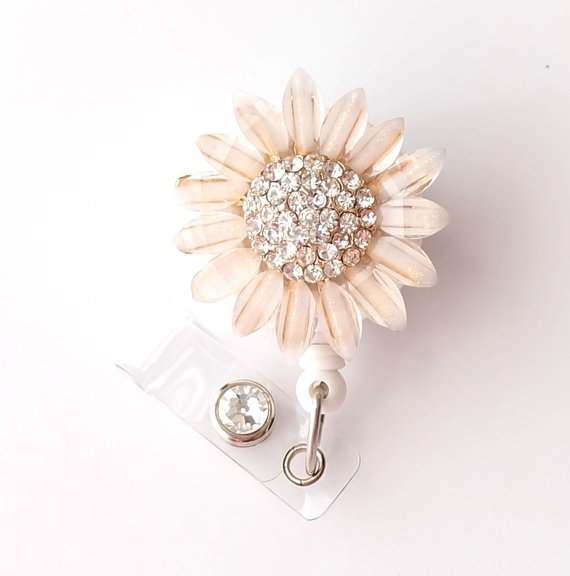 Sunflower Badge Holder