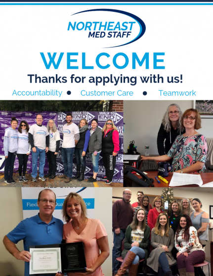 Thanks for applying with us!