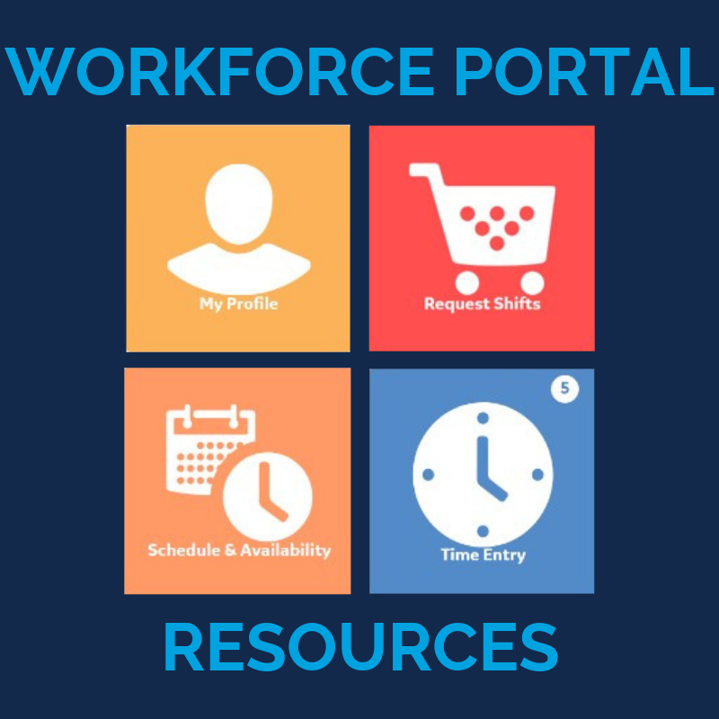 Click here for Workforce Portal Resources